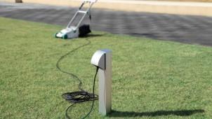 パナソニック、建物から離れた場所に設置できる屋外電源