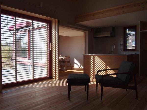 見学する浜松モデルハウスの内部