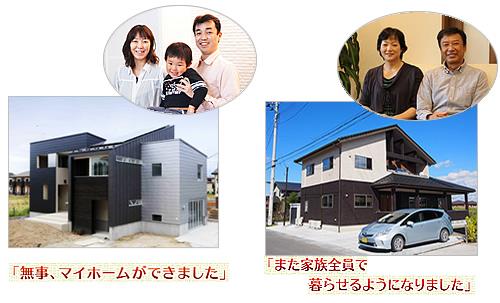 「住宅復興支援制度」利用者