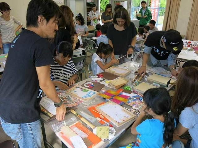 入居者向けのDIYワークショップも開催し、団地内コミュニティの活性化も図った。