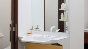 LIXIL、高齢者向け洗面台に2タイプ追加