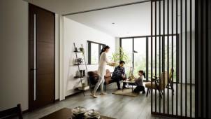 YKKAP、「ラフォレスタ」のドアデザインを拡充
