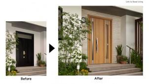 LIXIL、リフォーム玄関ドアの新商品「リシェントII」発売