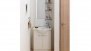 ジャニス工業、奥行370ミリのセカンド洗面を発売