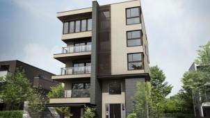 大和ハウス、大空間+大開口を実現する3・4・5階建て