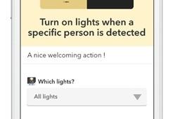 スマートホームカメラに新機能、顔認識で個別にアクション