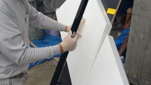EPS系断熱材をすばやくキレイに切断する熱線式カッター