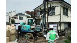 地盤ネット、戸建て地盤改良工事の施主向け検査サービス