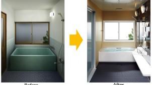 LIXILが浴室の窓リフォーム部材、1窓2時間で交換