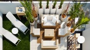 桧家H、人気の屋上庭園商品をリニューアル