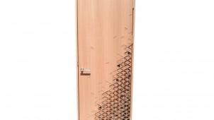 阿部興業、佐藤オオキ氏デザインの組子ドアを発売