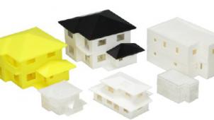 ムトーエンジニアリング、住宅模型に活用できる安価な3Dプリンター出力サービス