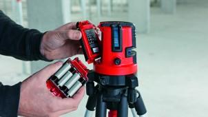 ライカジオシステムズ、脚付きレーザー墨出し器を発売