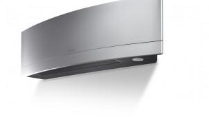 ダイキン、欧州で人気の曲面デザインの薄型エアコン