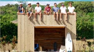 """ベツダイ、""""海の小屋""""「SURF STASH」展を大阪で開催"""