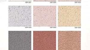 上塗り不要、ローラータイプの石材調仕上げ塗材を発売