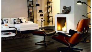 木質感が特徴的な欧州発のラミネートフロア、クギを使わず短工期