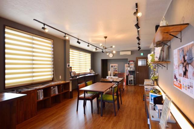 2015年9月に開設した、床暖房体験型ショールーム