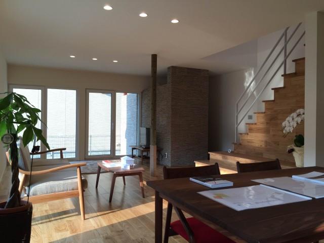 新モデルハウスの内観