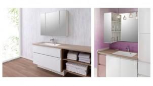 アイカ、女性の使いやすさにこだわった洗面化粧台を開発