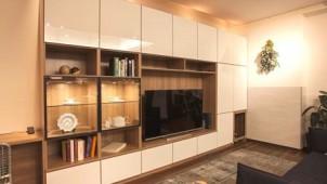 システム収納家具とリフォームがコラボ、間取りから収納を考えるショールーム
