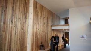 CLT実験棟と2X4中層建築がつくば市に完成 建築研究所