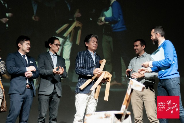 4月17日に行われた授賞式の様子。ミラノのTeatro Franco Parenti会場にて