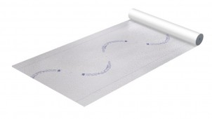フクビ化学工業、透湿防水シートの遮熱性と施工性を向上