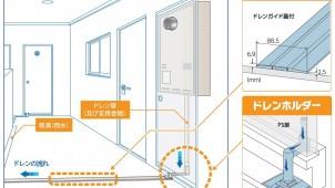 因幡電機産業、大阪ガスと共同開発のドレン排水用部材を新発売