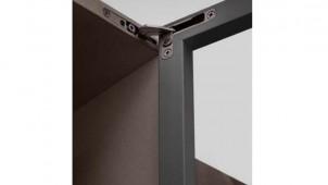 ハーフェレジャパン、金具が見えにくい家具用ヒンジを発売