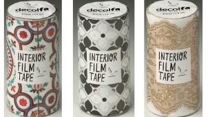 貼ってはがせる床パネル+フィルムテープで「デコ」を楽しむ