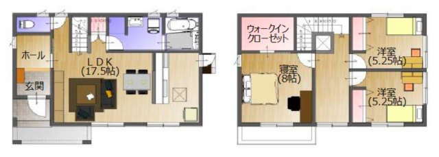 「大人気の家 復興支援特別仕様」イメージ図