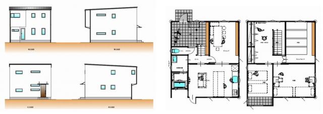 ecol'oeuf [エコルフ] 2階建て新プラン