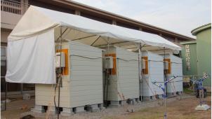 ノーリツ、熊本県益城町の避難所にシャワールームなど無償提供