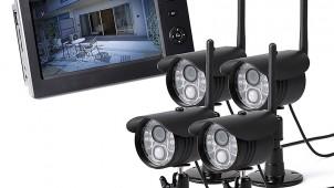 サンワサプライ、防犯対策に最適な屋外用カメラ&モニターを発売