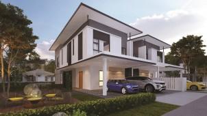 パナホーム、マレーシアの開発事業で富裕層向け戸建の建築請負を受注