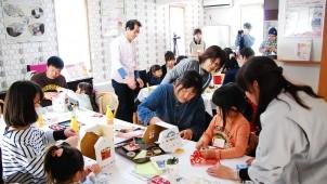 エースホーム、東日本大震災被災地に苗木を届ける「おうちバコ」づくりのイベントを開催