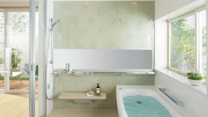 TOTO、「サザナ」中高級ゾーンにおそうじ浴槽を追加