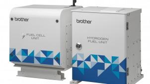 ブラザー工業、初の燃料電池システムを開発
