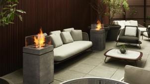 持ち運び可能なエコ暖炉に新デザイン3種
