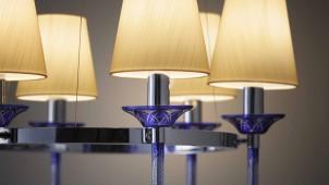 切子を採用、和モダンなシャンデリア・ペンダント照明を発売