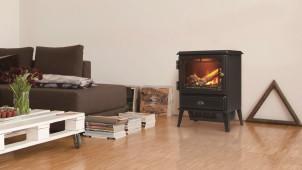 ディンプレックス、炎をリアルに再現する電気暖炉を発売