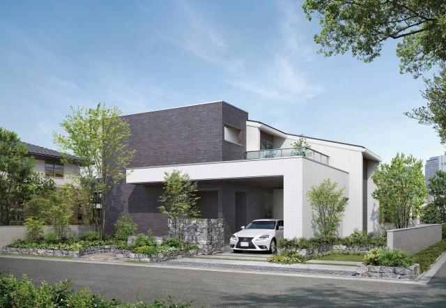 2016秋限定「邸宅仕様」として上質を追求したハイグレードな住まいを提供する。