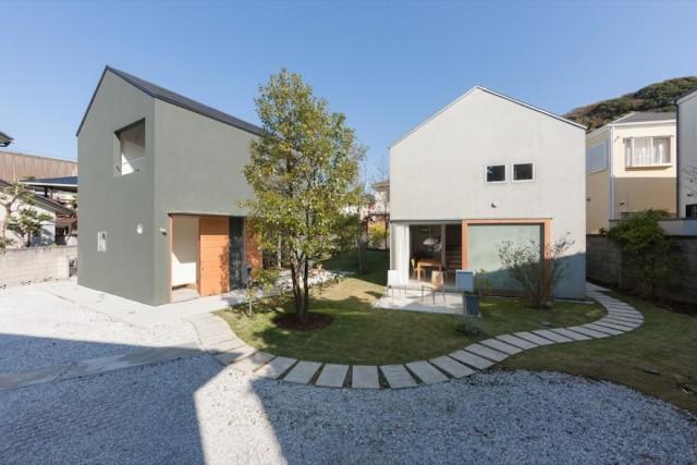 川辺直哉建築設計事務所「鎌倉材木座の住宅」