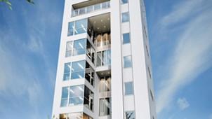 パナホーム、工業化住宅初の9階建多層階住宅を来年1月に発売