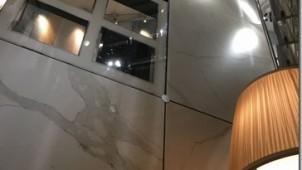 超大判セラミックタイルの内外装乾式工法展示会を開催