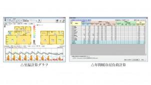 インテグラル、実状に合った日射取得量計算、暖冷房負荷計算などが容易に