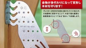 進化した木造筋交い用接合金物「ブレスターZ600」発売