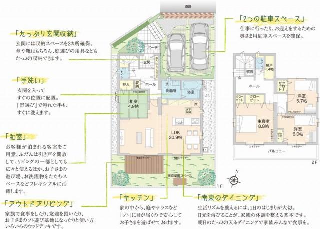 分譲住宅プラン例