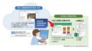 3Dカタログ.com、省エネ性能判定サービスを来春開始